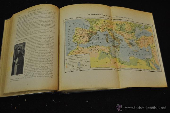 Libros de segunda mano: HISTORIA DE ESPAÑA -AGUSTIN BLÁNQUEZ FRAILE - EDITORIAL SOPENA 1943 - Foto 3 - 50446453