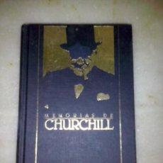Libros de segunda mano: MEMORIAS DE CHURCHILL ORBI S.A. 259 PAG. 1989. Lote 50467091