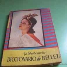 Libros de segunda mano: LIBRO DICCIONARIO DE BELLEZA. Lote 50470424