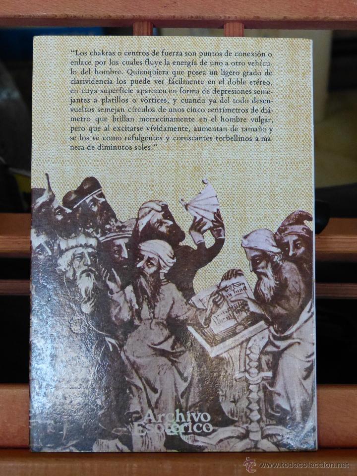 Libros de segunda mano: LOS CHACRAS: CENTROS MAGNETICOS VITALES DEL CUERPO HUMANO - C.W. LEADBEATER (NUEVO) - Foto 2 - 50483737