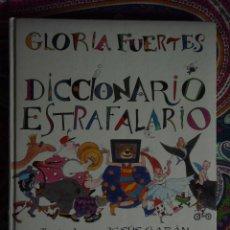 Libros de segunda mano: DICCIONARIO ESTRAFALARIO, GLORIA FUERTES. Lote 50495243