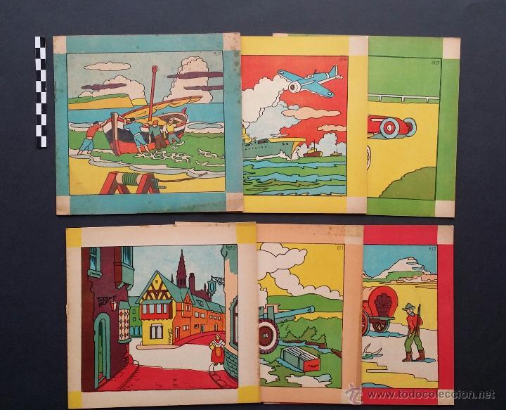 lote de 6 antiguos cuadernos para pintar, color - Comprar en ...