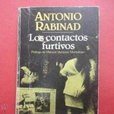 Libros de segunda mano: LOS CONTACTOS FURTIVOS. RABINAD. Lote 50510171