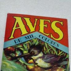 Libros de segunda mano: AVES DE MIL COLORES. SIGMAR.. Lote 50514450
