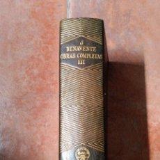 Libros de segunda mano: JACINTO BENAVENTE-OBRAS COMPLETAS-TOMO III- EDITOR M. AGUILAR 1940- 1ª EDIC. Lote 50527731