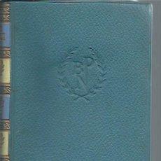 Libros de segunda mano: OBRAS ESCOGIDAS, GIOSUÉ CARDUCCI, PREMIO NOBEL 1906, AGUILAR MADRID 1957, ODAS POESÍAS RIMAS PROSAS. Lote 50557687