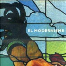 Libros de segunda mano: EL MODERNISME (LUNWERG, 1990) DOS TOMOS CON ESTUCHE. Lote 50565900