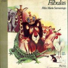 Libros de segunda mano: SAMANIEGO : FÁBULAS (VERÓN, 1972) MUY ILUSTRADO . Lote 81988087