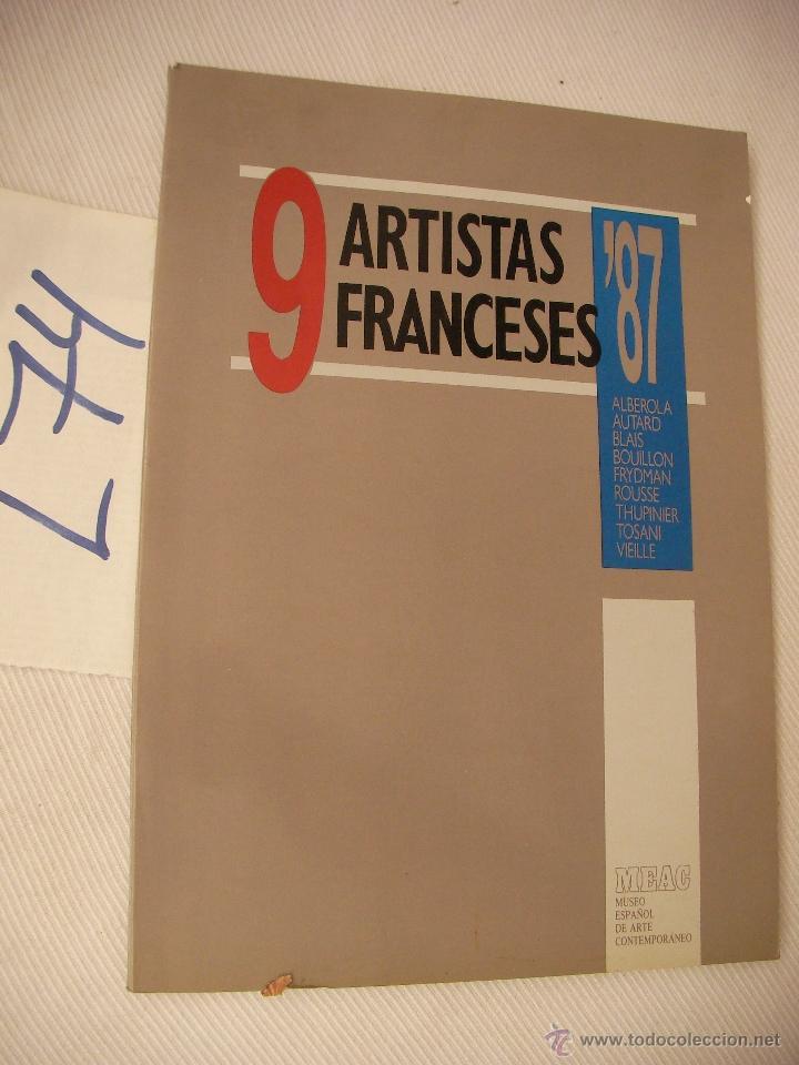 9 ARTISTAS FRNACESES (Libros de Segunda Mano - Bellas artes, ocio y coleccionismo - Otros)