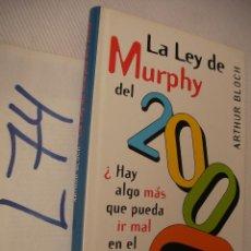 Libros de segunda mano: LA LEY DE MURPHY - ARTHUR BLOCH. Lote 50573839