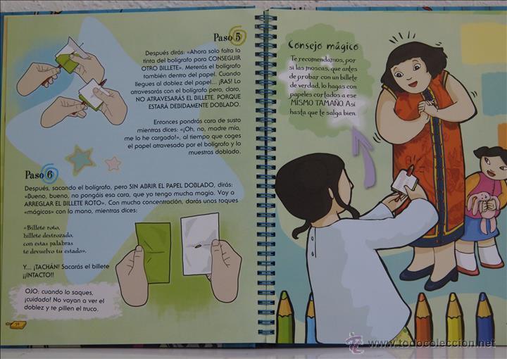 Libros de segunda mano: Los mejores trucos de magia, editorial Susaeta, Madrid, 2014 - Foto 2 - 50584390