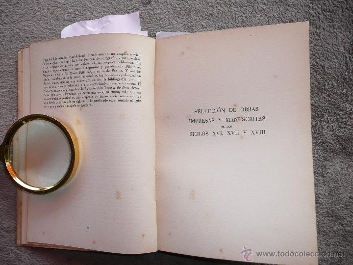 Libros de segunda mano: LA COLECCIÓN TEATRAL DE DON ARTURO SEDÓ, JOAQUIN MONTANER. SEIX Y BARRAL 1951. EDICIÓN DE 800 EJEMPL - Foto 5 - 50596637