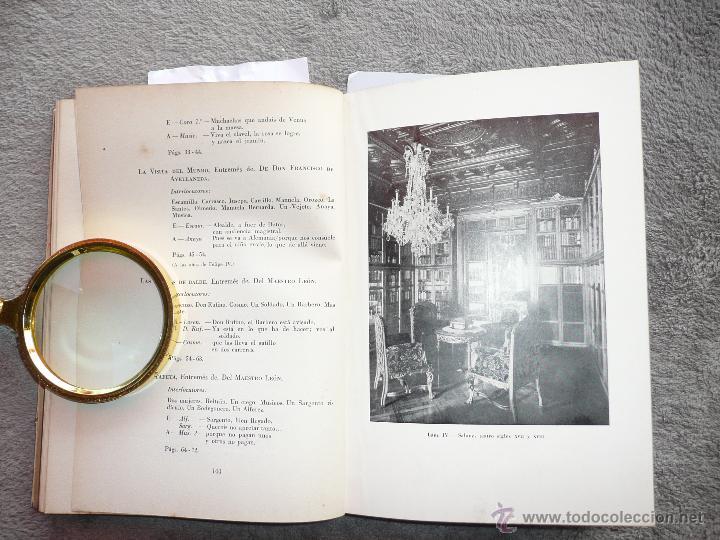 Libros de segunda mano: LA COLECCIÓN TEATRAL DE DON ARTURO SEDÓ, JOAQUIN MONTANER. SEIX Y BARRAL 1951. EDICIÓN DE 800 EJEMPL - Foto 10 - 50596637