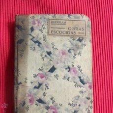 Libros de segunda mano: OBRAS ESCOGIDAS - ZORRILLA . Lote 50602923