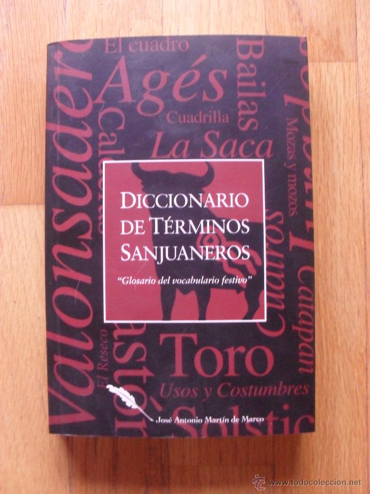 diccionario de terminos sanjuaneros, jose anton - Comprar en ...