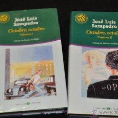 Libros de segunda mano: OCTUBRE, OCTUBRE , VOL. I Y II - JOSE LUIS SAMPEDRO - BIBLIOTECA EL MUNDO 73 Y 74. Lote 50623198