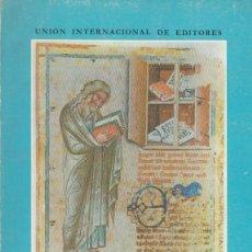 Libros de segunda mano: CÓDICES MINIADOS ESPAÑOLES CATÁLOGO EXPOSICIÓN NSTITUTO NACIONAL DEL LIBRO ESPAÑOL 1962 LA BIBLIA . Lote 50631733
