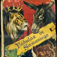 Libros de segunda mano: FÁBULAS DE SAMANIEGO (MOLINO, 1942) ILUSTRACIONES DE FREIXAS. Lote 50643411