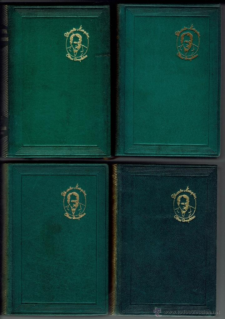 Libros de segunda mano: EDUARDO MARQUINA. OBRAS COMPLETAS. 8 TOMOS. EDITORIAL M. AGUILAR. AÑO 1944. (E.2.10) - Foto 6 - 50760645