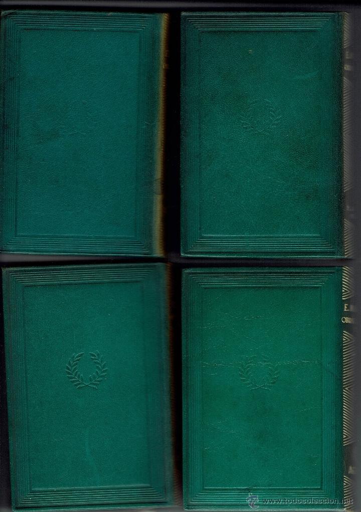 Libros de segunda mano: EDUARDO MARQUINA. OBRAS COMPLETAS. 8 TOMOS. EDITORIAL M. AGUILAR. AÑO 1944. (E.2.10) - Foto 7 - 50760645