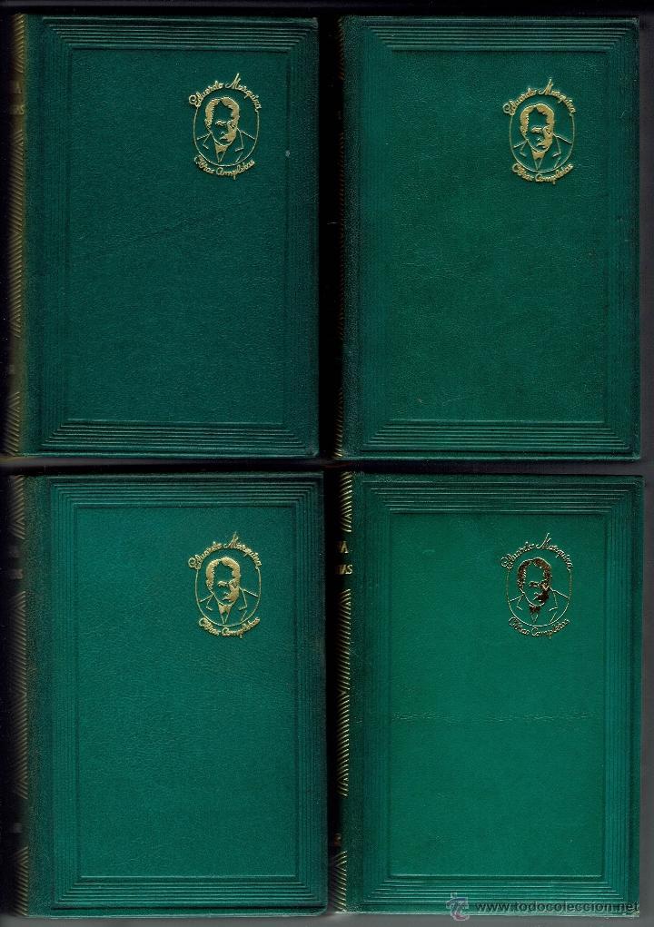 Libros de segunda mano: EDUARDO MARQUINA. OBRAS COMPLETAS. 8 TOMOS. EDITORIAL M. AGUILAR. AÑO 1944. (E.2.10) - Foto 8 - 50760645