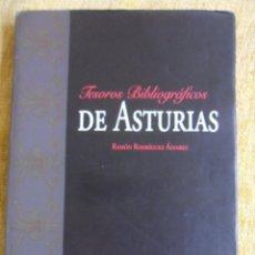 Libros de segunda mano: TESOROS BIBLIOGRAFICOS DE ASTURIAS. RAMON RODRIGUEZ ALVAREZ. CAJASTUR, 1998. GRAN FORMATO. TAPA DURA. Lote 50763052