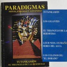 Libros de segunda mano: PARADIGMAS MITOS ENIGMAS LEYENDAS TUTANKAMÓN LAGO NESS EL TRIÁNGULO DE LAS BERMUDAS LIBRO MISTERIO. Lote 50765195