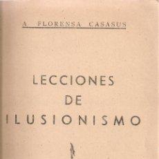 Livros em segunda mão: LECCIONES DE ILUSIONISMO 38. JUEGOS CON CIGARROS Y CERILLAS / A. FLORENSA CASASUS. MADRID,. Lote 50793562