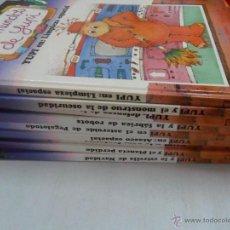 Libros de segunda mano: LOTE 9 LIBROS LOS MUNDOS DE YUPI EDELVIVES NUMEROS 1 2 3 4 5 6 7 8 10. Lote 50801299