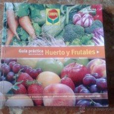 Libros de segunda mano: GUÍA PRÁCTICA PARA EL CUIDADO DE HUERTOS Y FRUTALES.. Lote 126853272