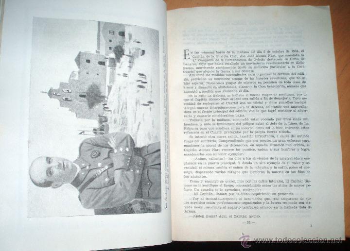 Libros de segunda mano: * LUCHA CONTRA EL CRIMEN Y EL DESORDEN. (Memorias de un Teniente de la Guardia Civil). - Foto 3 - 50875964