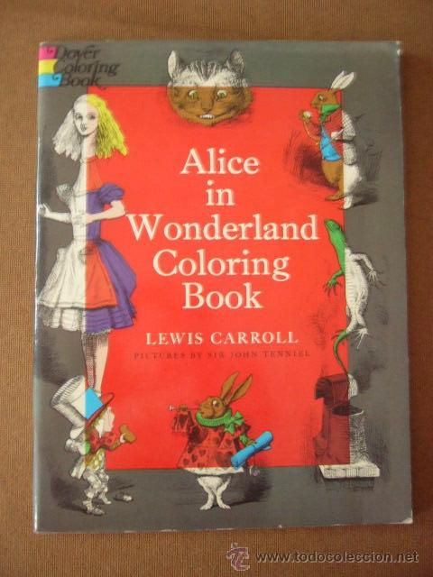 alice in wonderland. coloring book. libro para - Comprar en ...