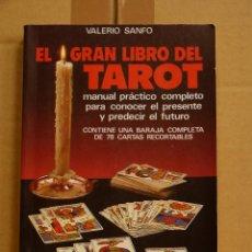 Livros em segunda mão: EL GRAN LIBRO DEL TAROT - VALERIO SANFO. Lote 50901220