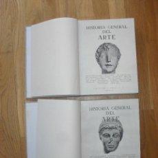 Libros de segunda mano: HISTORIA GENERAL DEL ARTE, MONTANER Y SIMON 2 TOMOS,. Lote 50915555