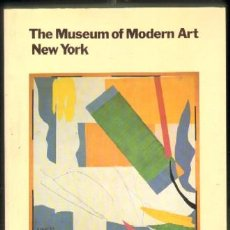 Libros de segunda mano: THE MUSEUM OF MODERN ART, NEW YORK,THE HISTORY AND THE COLLECTION A-ART-1928. Lote 50963332