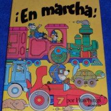 Libros de segunda mano: EN MARCHA - LIBRO POP-UP - MONTENA. Lote 50970203