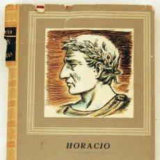 Libros de segunda mano: ODAS Y SATIRAS COMPLETAS - HORACIO. Lote 50989406