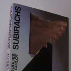 Libros de segunda mano: JOSEP MARIA SUBIRACHS - EJEMPLAR CON FIRMA Y DEDICATORIA DEL ARTISTA. Lote 105622176