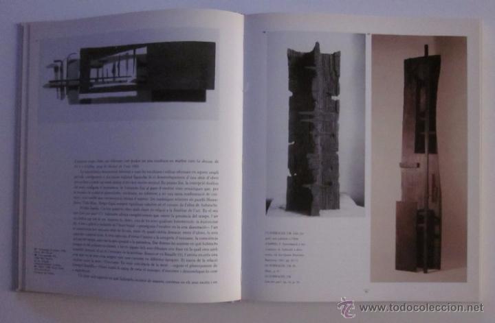Libros de segunda mano: JOSEP MARIA SUBIRACHS - EJEMPLAR CON FIRMA Y DEDICATORIA DEL ARTISTA - Foto 6 - 105622176