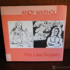 Libros de segunda mano: THE LAST SUPPER.--ANDY WARHOL. Lote 51009185