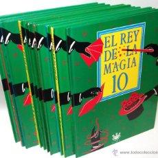 Libros de segunda mano: EL REY DE LA MAGIA ·· 10 VOLÚMENES ·· DEL 1 AL 10. Lote 51031032