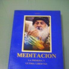 Libros de segunda mano: MEDITACIÓN - OSHO. Lote 51050582