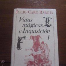 Libros de segunda mano: VIDAS MAGICAS E INQUISICION 2 VOLUMENES JULIO CARO BAROJA. Lote 51053669
