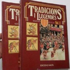 Libros de segunda mano: DOLÇA CATALUNYA. TRADICIONS I LLEGENDES (2 TOMOS). Lote 51058942