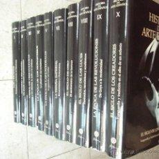 Libros de segunda mano: HISTORIA DEL ARTE ESPAÑOL. 10 TOMOS. COMPLETO. PLANETA, 1997. . Lote 51135184