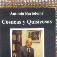 Libros de segunda mano: COSUCAS Y QUISICOSAS. Lote 52304365