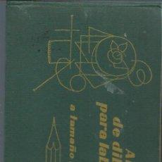 Libros de segunda mano: ALBUM DE DIBUJOS PARA LABORES A TAMAÑO NATURAL, LA MÁS APURADA SELECCIÓN DE DIBUJOS Y MUESTRAS. Lote 94760522