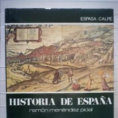 Libros de segunda mano: MANUEL FERNÁNDEZ ÁLVAREZ - HISTORIA DE ESPAÑA MENÉNDEZ PIDAL. TOMO XIX. EL SIGLO XVI. Lote 51164928