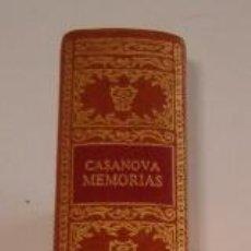 Libros de segunda mano: JACOBO CASANOVA DE SEINGALT. MEMORIAS. TOMO V. RM70923. . Lote 51173606