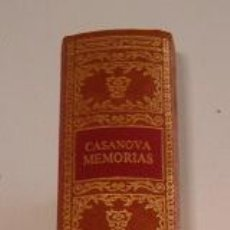 Libros de segunda mano: JACOBO CASANOVA DE SEINGALT. MEMORIAS. TOMO VI. RM70925. . Lote 51173634